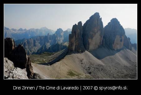 Drei Zinnen / Tre Cime di Lavaredo (2999 m.n.m.)