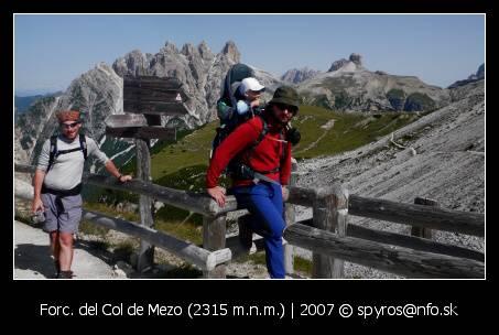 Forc. del Col de Mezo (2315 m.n.m.)