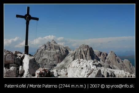 Paternkofel / Monte Paterno (1744 m.n.m.)