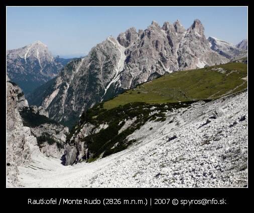 Rautkofel (Monte Rudo)